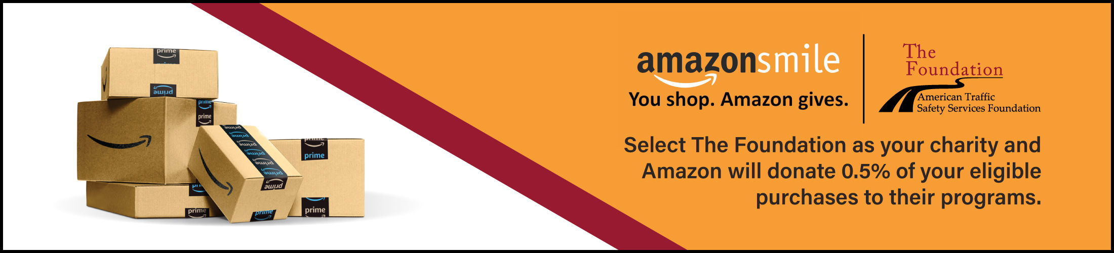 Designate your Amazon.Smile charity